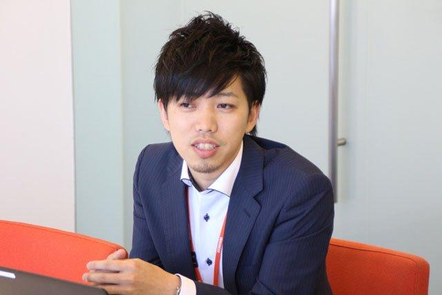 渡邊様インタビュー中の様子